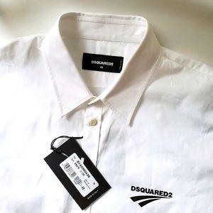 🇨🇦 Dsquared2 logo shirt